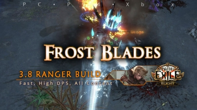 [Ranger] PoE 3.8 Frost Blades Raider Fast Build (PC, PS4, Xbox)